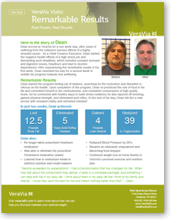 VeraVia Visits: Remarkable Results Executive Health